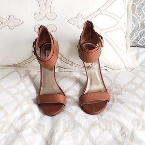 Steve Madden Cognac Madasyn High Heel Sandal